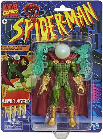 Marvel Legends Mysterio Retro Collection 16cm Pronta entrega