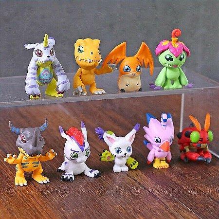 Digimon figuras de 4 cm  bootleg Pronta entrega