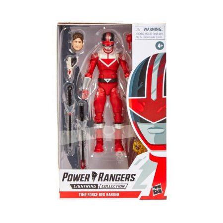 Power Rangers Time Force Lightning Collection Red Ranger Pronta entrega