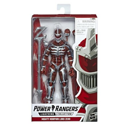 Mighty Morphin Power Rangers Lightning Collection Lord Zedd PRONTA ENTREGA