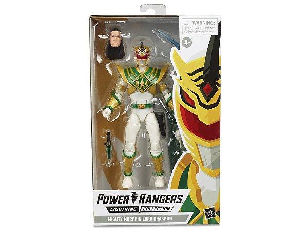 Mighty Morphin Power Rangers Lightning Collection Lord Drakkon PRONTA ENTREGA
