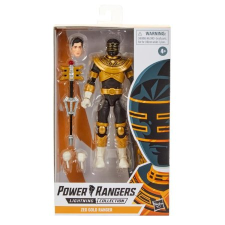 Power Rangers Lightning Collection ZEO GOLD RANGER PRONTA ENTREGA