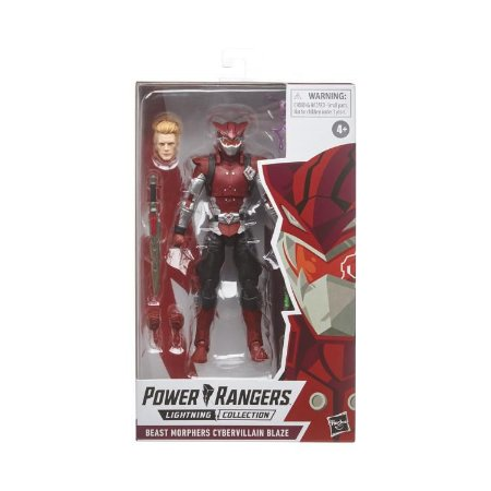 Power Rangers Beast Morphers Lightning Collection Cybervillain Blaze PRONTA ENTREGA