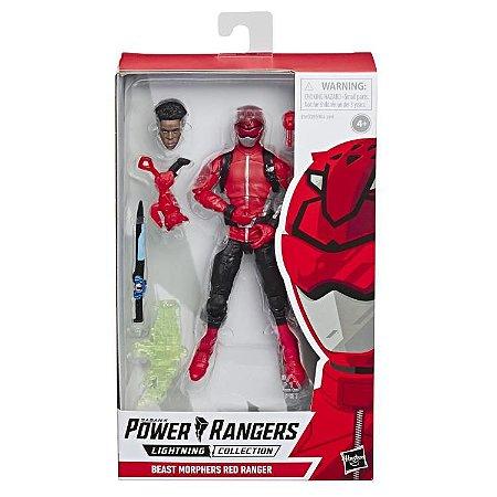 Power Rangers Beast Morphers Lightning Collection Red Ranger PRONTA ENTREGA