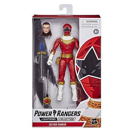 Power Rangers Zeo Lightning Collection Red Ranger PRONTA ENTREGA