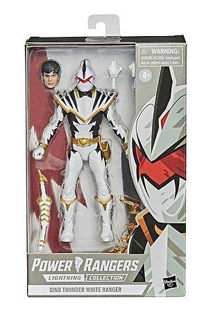 Power Rangers Lightning Collection Dino Thunder White Ranger Abarekiller PRONTA ENTREGA