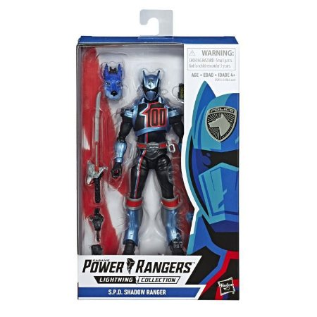 Power Rangers S.P.D. Lightning Collection Shadow Ranger PRONTA ENTREGA