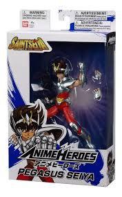Knights of the Zodiac Anime Heroes Pegasus Seiya PRONTA ENTREGA