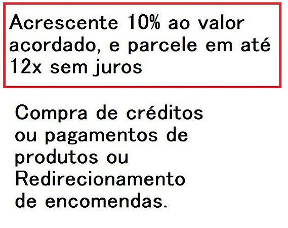 Créditos de Redirecionamento de encomendas