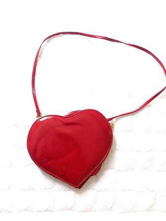 f3e82f2b3 Bolsa Coração - Achados Brechó