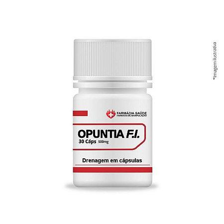 OPUNTIA FICUS-INDICA 500mg - Drenagem em cápsulas