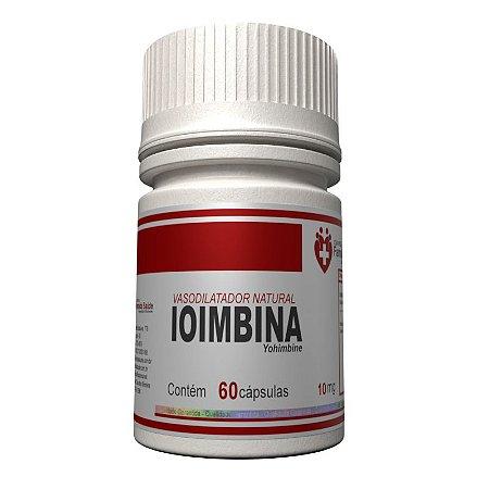 Ioimbina 10mg  60 capsulas - Vasodilatador e termogênico