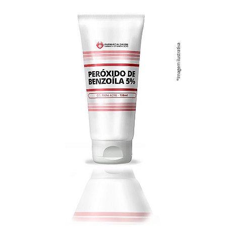 Peróxido de Benzoíla 5% - 100g - gel para acne e espinhas