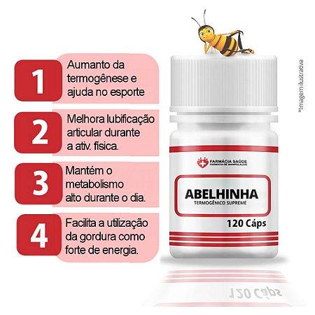 Termogênico Abelhinha - 120 cápsulas - Original |FS