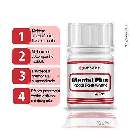 SupleMental Plus 60 cápsulas - Neuroestimulador