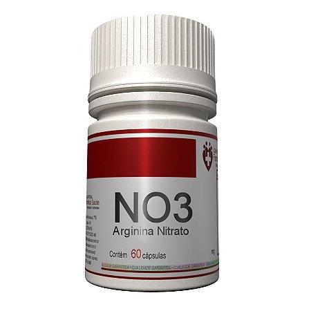NO3 600mg 60 cápsulas - Arginina Nitrato
