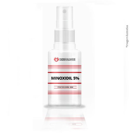 Minoxidil 5% Spray - 60ml - Cabelo e Barba |♥