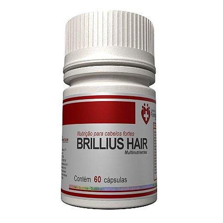 Brilius Hair 60 cápsulas - Nutrientes para Cabelos