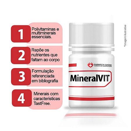 MineralVIT 60 cápsulas - polivitaminico e multiminerais