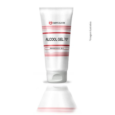 Kit 20 unidades Álcool Gel 70% 40ml