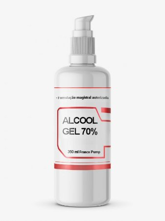 Álcool Gel 70% 350ml