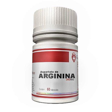 Arginina Aspartato 260mg 60 cápsulas