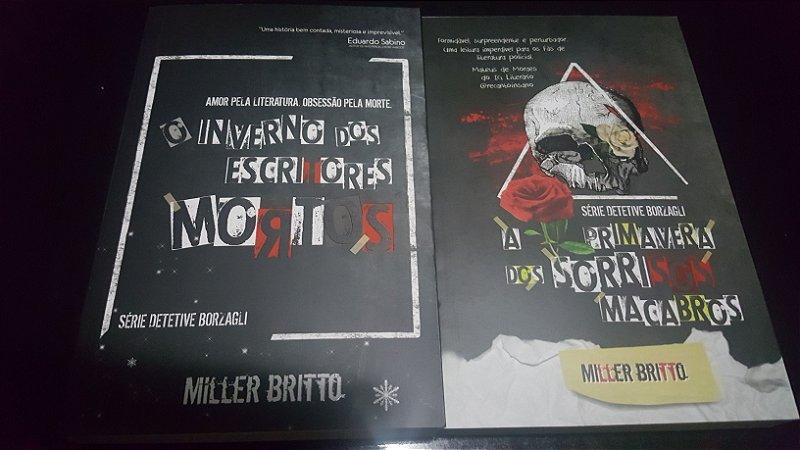Série Detetive Borzagli, volumes 1 e 2