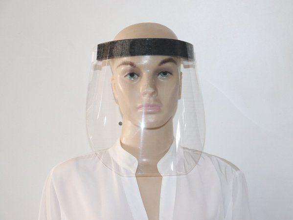 Protetor Facial Transparente (Viseira) - Kit Com 10 unidades