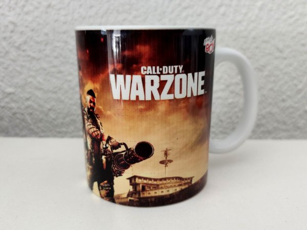 Caneca Call Of Duty Warzone 325ml Porcelana