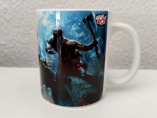 Caneca God Of War PS4 325ml Porcelana
