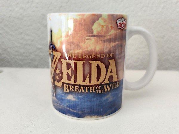 Caneca Zelda Breath of The wild 325ml Porcelana