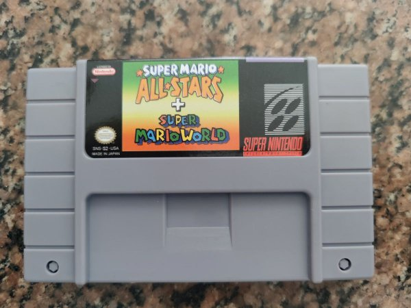 Super Mario All Stars + Mario World - Novo Repro