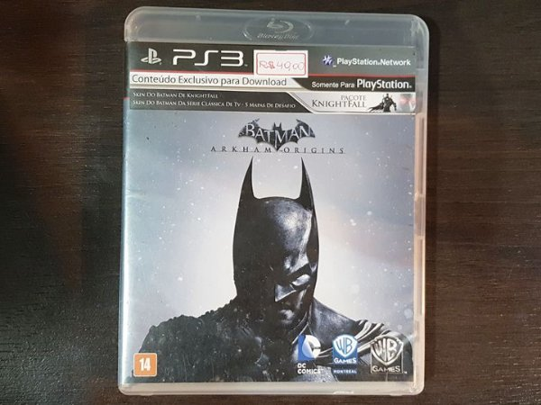 Batman Arkham Origins - Seminovo