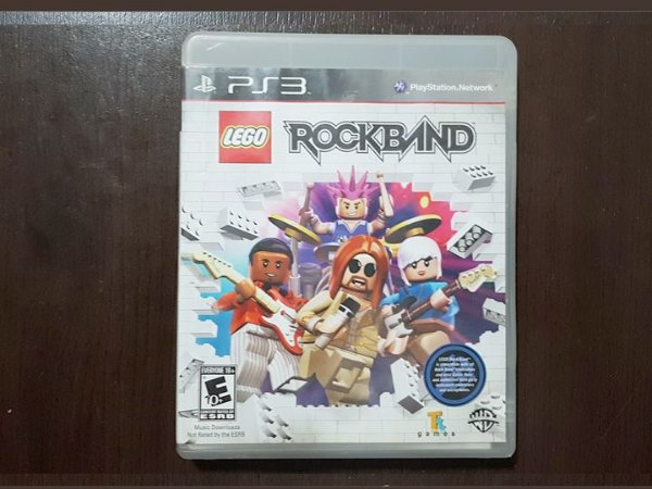 Lego Rock Band - Seminovo