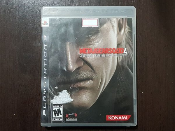 Metal Gear Solid 4 Guns of The Patriots - Seminovo