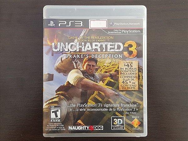 Uncharted 3 Drake's Deception - Seminovo