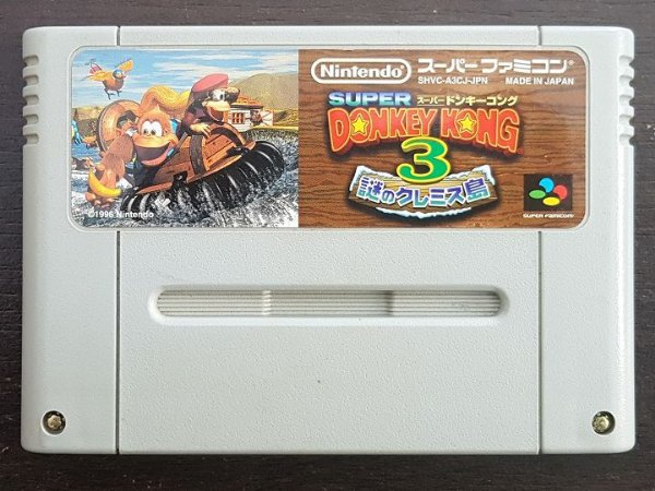 Donkey Kong Country 3 - Original (Jap)