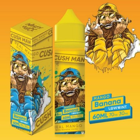 Cush Man Mango Banana 60ml 0mg