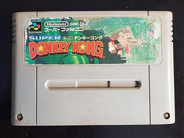 Donkey Kong  Country - Original Seminovo (Jap)