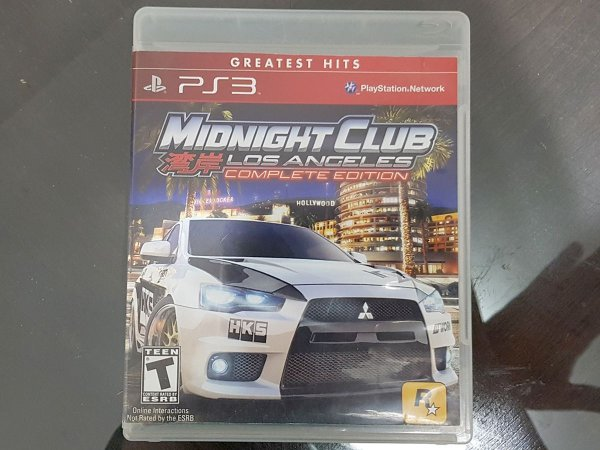 Midnight Club Los Angeles Complete Edition - Seminovo