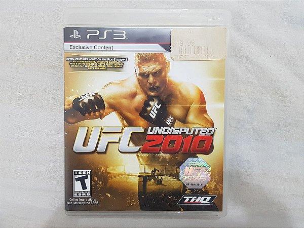 UFC 2010 Undisputed - Seminovo