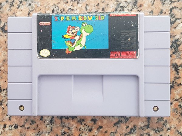 Super Mario World Original - Seminovo