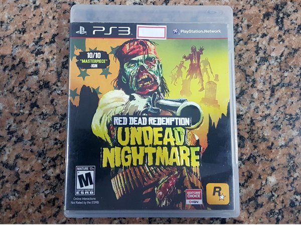 Red Dead Redemption Undead Nightmare - Seminovo