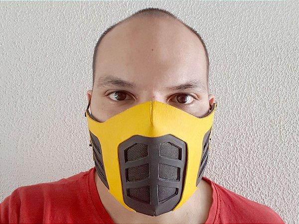 Máscara Scorpion - Alto Relevo