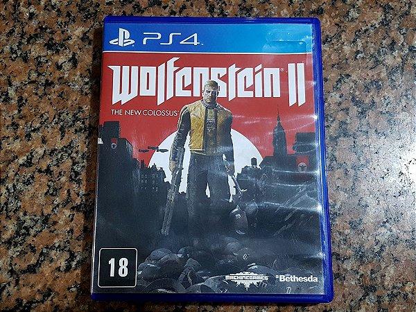 Wolfenstein 2 - Seminovo