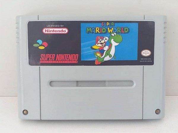 Super Mario World Repro Salvando - Seminovo