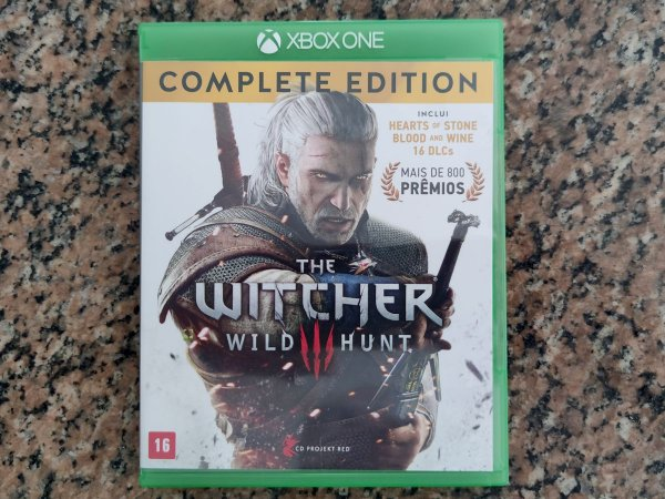 The Witcher 3 Complete Ed - Seminovo