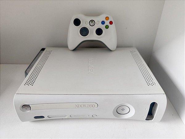 Xbox 360 Fat com 5 Jogos LT 3.0