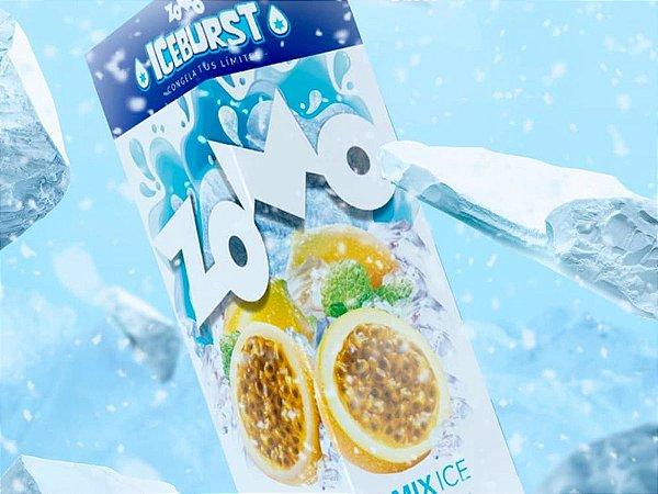 Passion Mix Ice Zomo 60ml + 10ml Iceburst 3mg