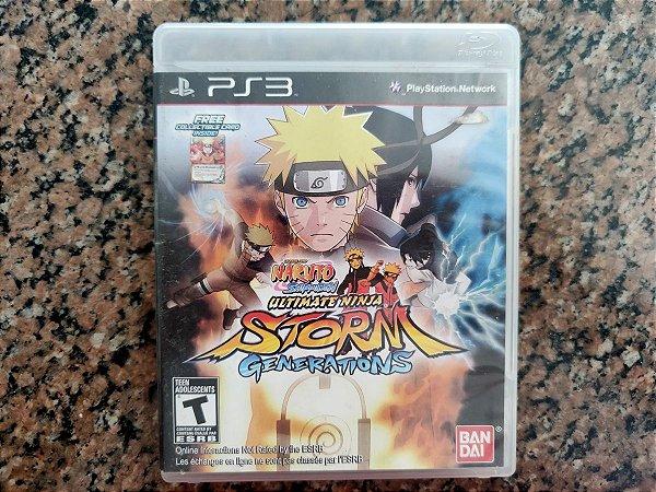 Naruto Ultimate Ninja Storm Generations - Seminovo